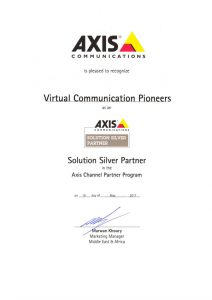 Axis Silver solution partner r vcpco